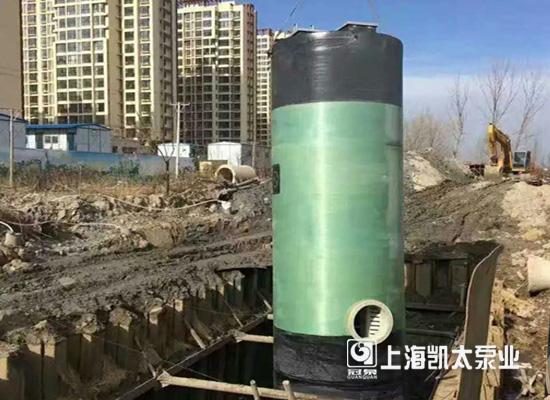 上海凯太一体化预制泵站,技术升级助环保事业发展