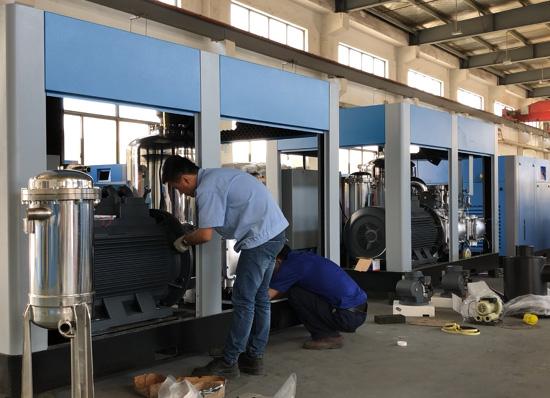 上海普度以科技创新为引领,推动无油空压机转型升级